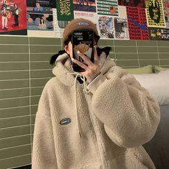 ChouxChic - Fluffy Zipped Jacket