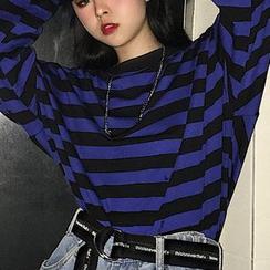 AXEN - Long-Sleeve Striped T-Shirt
