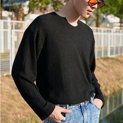Orizzon - Striped Knit Top
