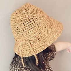 FROME - 親子裝稻草帽子