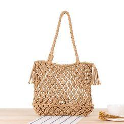 STYLE CICI - Straw Shoulder Bag