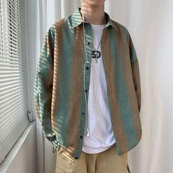 JUN.LEE - Striped Shirt