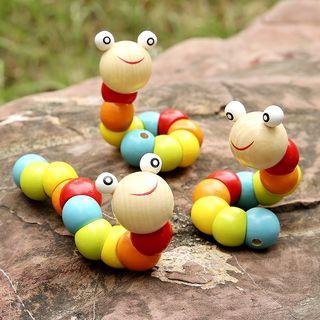 Showroom - Wooden Worm Toy