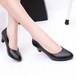 Edda - 粗跟鞋
