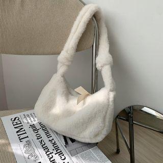 Daelynn - Fluffy Hobo Bag