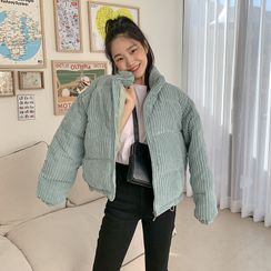 FROMBEGINNING - Corduroy Padding Jacket (6 Colors)