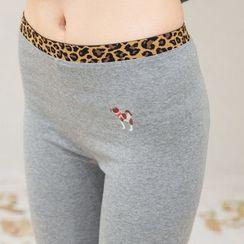 DORRIE - 刺绣内搭裤