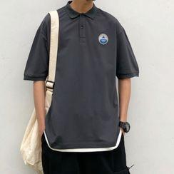 Milioner - 贴布短袖马球衫