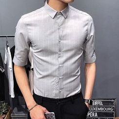 Romantica - 短袖条纹衬衫