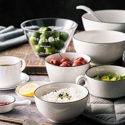 Cassandra - Ceramic Bowl / Spoon / Mug / Sauce Dish / Glass Bowl / Glass Cup / Wooden Chopsticks