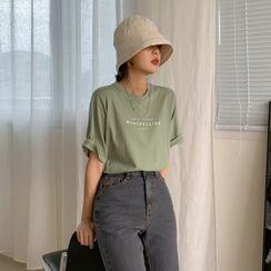 MERONGSHOP - Washed Denim / Cotton Bucket Hat
