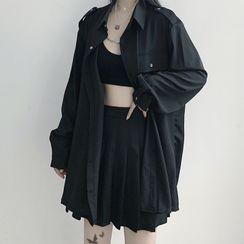 RONIN - 纯色衬衫 / 腰包