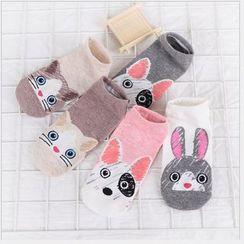 Cloud Femme - Kids Cartoon Animal Socks