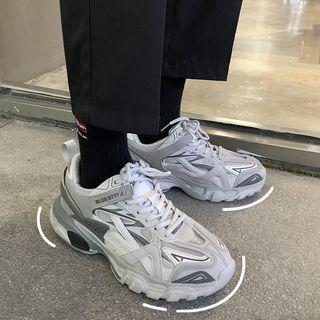 YERGO - 厚底系带休閒鞋