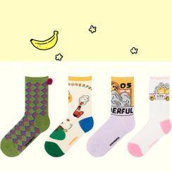 Castellane - 印花襪子