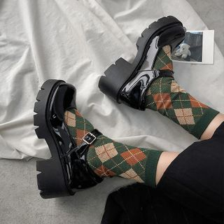Margaux Jo - 厚底玛莉珍凉鞋