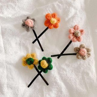 Hello minto - Flower Hair Pin