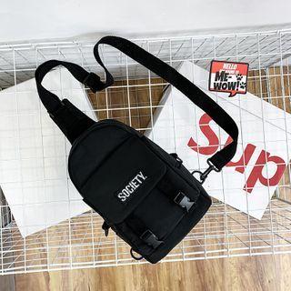 Mulgam - Lettering Zip Sling Bag