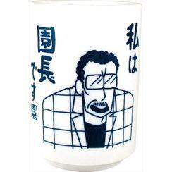 T'S Factory - 蜡笔小新 陶瓷茶杯 (园长先生)