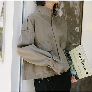 Baseris - 口袋细节拉链外套