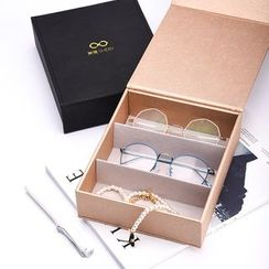 Hazzeland - Divided Eyeglasses Storage Box
