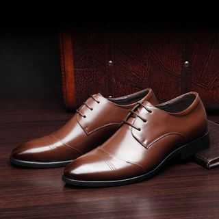 Snowpard - Pointed Oxford Shoes