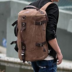 BagBuzz - Convertible Canvas Duffel Bag