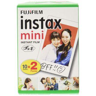 Fujifilm - Fujifilm Instax Mini Film (20 Sheets per Pack)