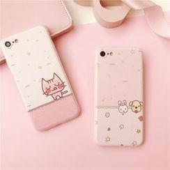 Baripa - Cartoon Phone Case - Apple iPhone 6 / 6 Plus / 7 / 7 Plus