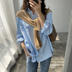 Coolvibe - Long-Sleeve Striped Shirt