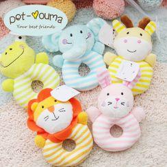 Puppis - Chenille Animal Pet Toy