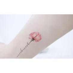 METZ - Flower Waterproof Temporary Tattoo Sticker