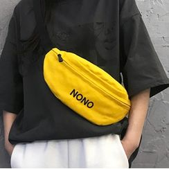 Nothic - Letter Embroidered Belt Bag