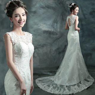 Caprice - 无袖拖尾婚礼服