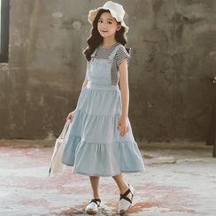 Cuckoo - Kids Short-Sleeve T-Shirt / Midi Jumper Dress / Set