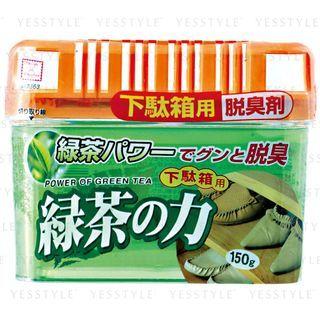 小久保 - 鞋柜用炭脱臭剂 绿茶