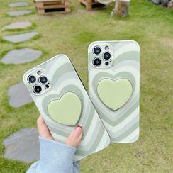 Witheart - Heart Phone Case - iPhone 12 Pro Max / 12 Pro / 12 / 12 mini / 11 Pro Max / 11 Pro / 11 / SE / XS Max / XS / XR / X / SE 2 / 8 / 8 Plus / 7 / 7 Plus