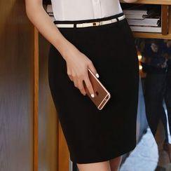 Princess Min - Pencil Skirt