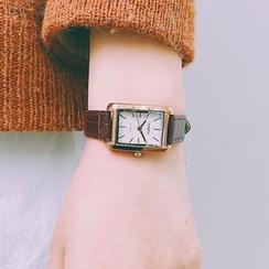 Miumi - Square Dial Strap Watch
