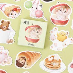 Milena - Cat & Food Sticker