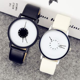 Epoca - Contrast Minimal Strap Watch (various designs)