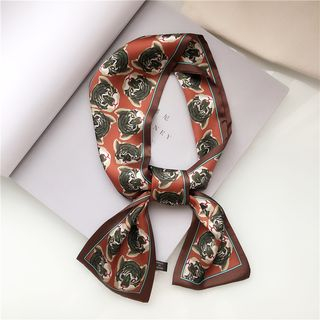 uber ushi - Tiger All Over Print Neckerchief
