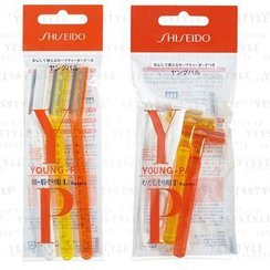 Shiseido - Young-Pal Razors 3 pcs - 2 Types