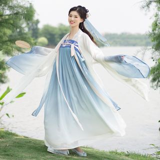 Cedar Smile - Embroidered Traditional Chinese Costume