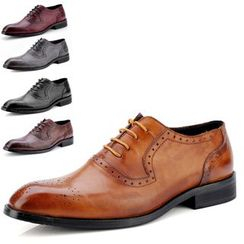WeWolf - Genuine Leather Lace-up Oxfords