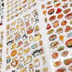 Katiz - Cartoon Stickers (Assorted Designs)