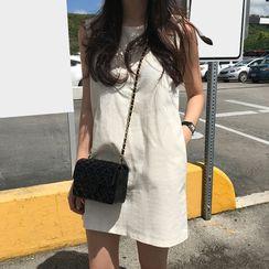 SANSAN - 純色背心裙