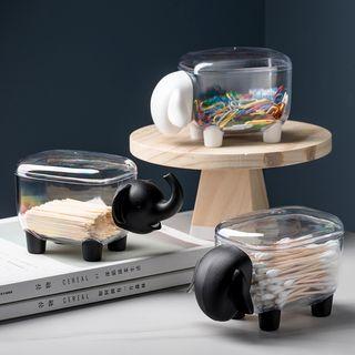 MIMO - 动物牙签 / 化妆棉桌面收纳盒