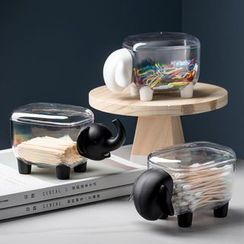 MIMO - Animal Toothpick / Makeup Cotton Desk Organizer