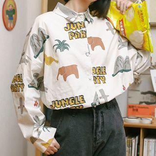XOXO - All Over Print Shirt